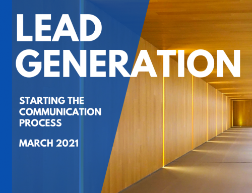 Lead Generation, The communication process